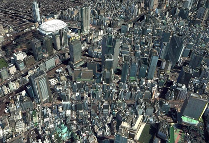 Building 3D data with texture(Tokyo)