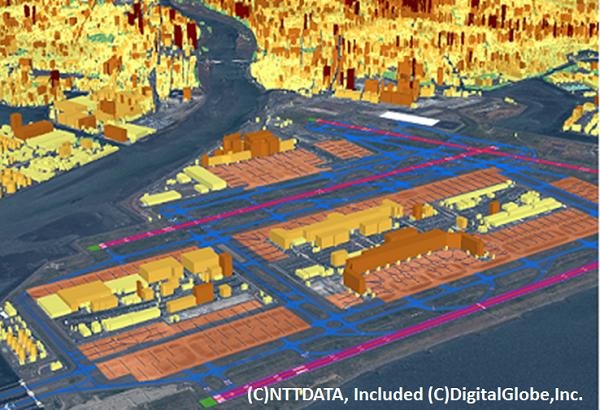 Haneda_Airport3D(AMDB:Airport Mapping Database)