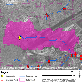 Existing analysis result with 30m resolution imagery