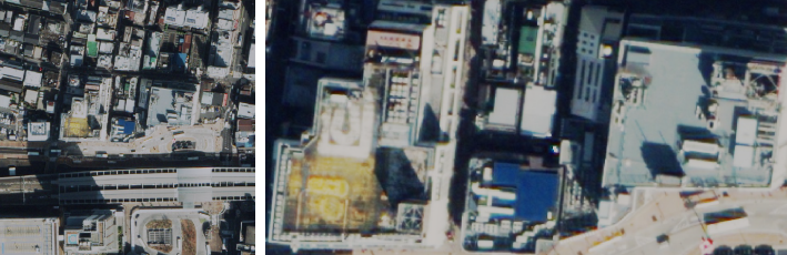 30cm解像度(WorldView3衛星)