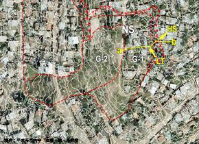 AW3D 50cm解像度を活用して「ホンジュラスの首都の市街地で地すべり危険地域の抽出」を実証