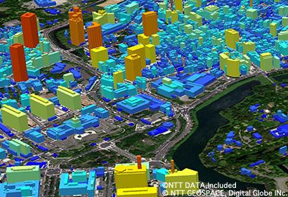 ビルディング3D データ(東京)