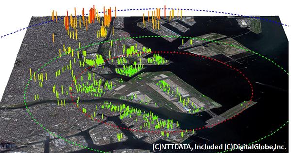 羽田国際空港の地図データ(eTOD)