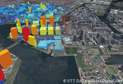 ビルディング3Dデータ